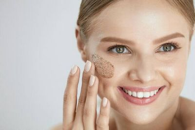 Exfoliating - Getting Rid of Skin Wrinkles and Acne the skin to become dry