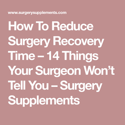 Recovery Period After Acdf Surgery condition and